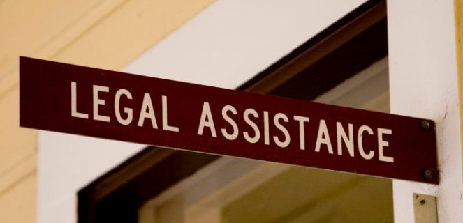 PIC - LEGAL ASSISTANCE DOOR SIGN