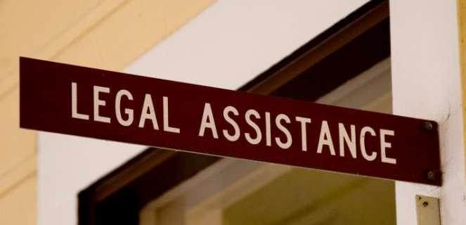 PIC - LEGAL ASSISTANCE DOOR SIGN